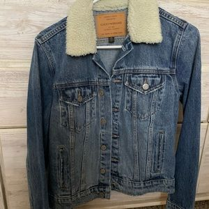 NWOT lucky brand jean jacket size M